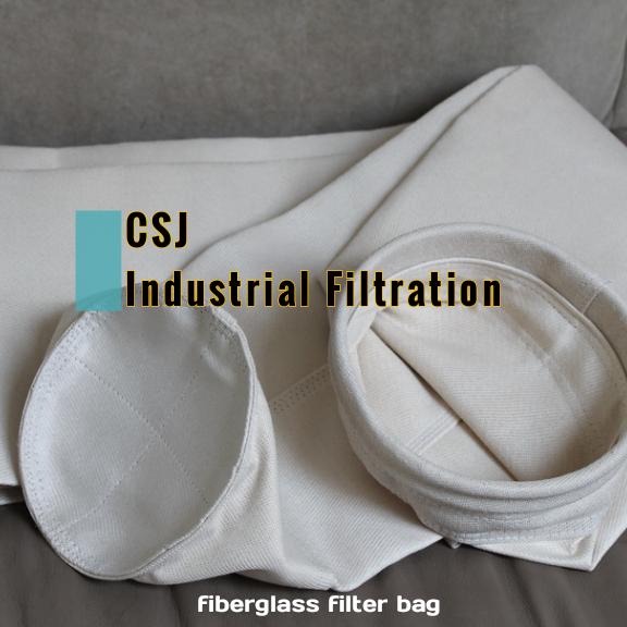 耐酸高温玻璃纤维除尘布袋