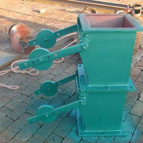 双层重锤卸料器