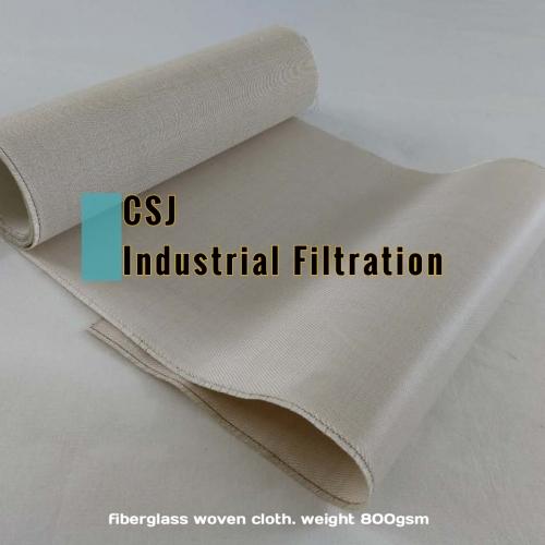 高温高强力璃纤维除尘滤布