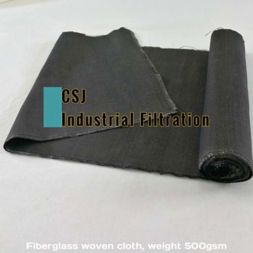 耐高温玻璃纤维机织除尘滤布