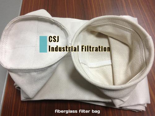 高性能玻璃纤维除尘滤袋